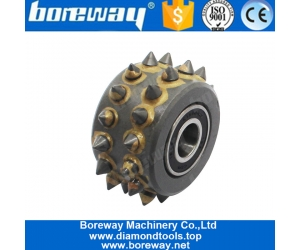Manufacturer Buy Factory Price 30S Alloy Bush Hammer Roller For Grinding Floor Stone or Concrete