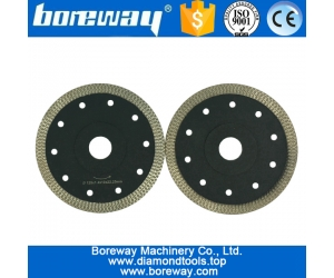 Mesh circular diamond saw blades for stone granite marble ceramic concrete