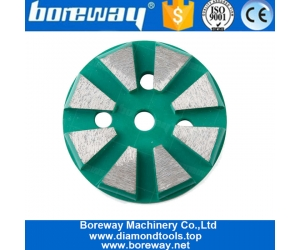 Professional Factor Price 3 Inch Single Arc Segments Round Grinding Pads  Grinding Tools For Manufacturers