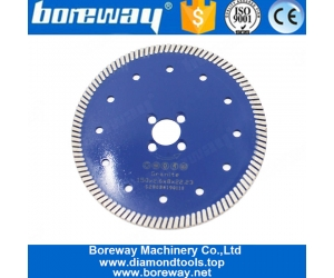 Professional Small Diamond Turbo Cutting Disc For Ceramic Tile Cutter Tools Supplier