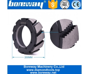 Sale In India Turkey Brazil Usa Boreway Wet Use Quartz Calibrating Wheels For Automatic Disc Calibrating Grinding Machine Line