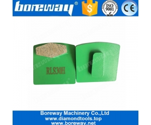 Single Segment Metal Bond Diamond Grinding Block For Concrete Floor And Stone Surface