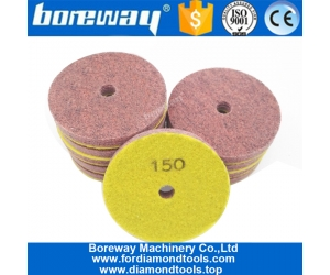 Sponge Polishing Pad for sandstone jade travertine New Type Wet sanding disc