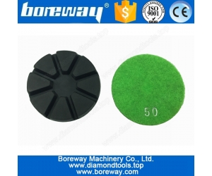"Supply 3"" Colorful Diamond Grinding Pad For Concrete"