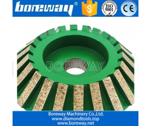 Supply D120*20T*20H CNC Charfer Grinding Wheel For Ceramic