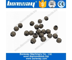 Supply Dia.11.4mm  Vacuum Sintered Marble Diamond Beads,Vacuum Brazed Wire Cutting Bead