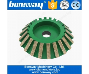 Supply Diamond 45 degree CNC Ceramice Chamfering Wheel D126*20T*20H
