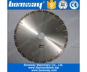 W Shape Segment  Diamond Blade Wet Saw For Granite