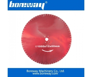 Wall cutting diamond saw blade factory, diamond brazed wall saw blade