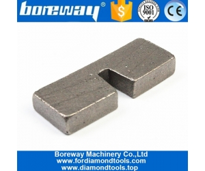 granite block diamond segment,Silver Welded 350mm U Slot Diamond Segment for Granite