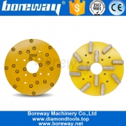 China 10 Inch 250mm Metal Grinding Disk For Calibration And Grinding On Granite Slab factory