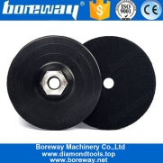 "China 100mm M14 ou 5/8 ""-11 Thread Design de almofada plástica para polidor fábrica"