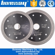 China 105MM 115MM 125MM Hot pressed sintered Mesh Turbo Diamond Saw blade Hard material Diamond Wheel Cutting Disc china supplier factory
