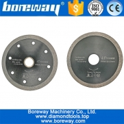 China 105mm or 115mm Hot pressed Thin Continuous Rim Diamond Cutting Disc for Ceramic tile porcelain tile from Diamond saw Blades factory