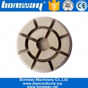 China 10mm Thickness Diamond Grinding Polishing Pads For Marble Granite Floor factory