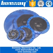 China 115MM-400MM Vacuum Brazed Diamond Blade for All Purpose For stone iron steel Demolition Blade factory