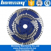China 5 Inch Diamond Saw Blade Disc With Protection Segment Concrete Tile Cutting fábrica