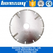 China 125mm Electroplated reinforced diamond cutting disc 5 inches marble blade with Bore 22.23mm factory