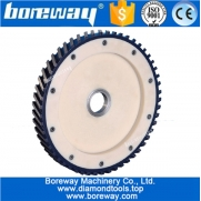 China 14 inch diamond milling wheel with Teflon silent core saw blade for granite concrete beds factory