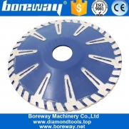 China 1pcs Dry Wet Turbo Rim Curved Saw Blade Granite Marble Circular Saw Disc for Wholesaler factory