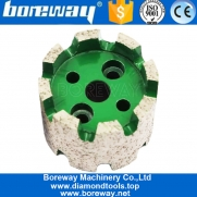 China 2 Inch CNC Sintering Standard Stubbing Wheels for Marble Granite Suppliers factory
