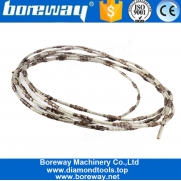 China 2.2mm Brazed Diamond Cutting Wire Saw For Cutting Soft Stone Ceramics factory