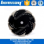 China 230mm Diamond Cutting Disc Granite Marble Turbo Saw Blade factory