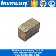 China 2500mm Taper Shape Multi Layer Structure Granite Block Cutting Diamond Segment factory
