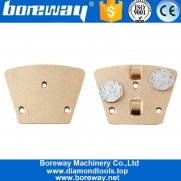 China 2x1/2 PCD Trapezoid Pad Disc With Round Segments For Removing Epoxy factory