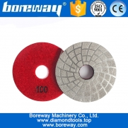 China 3 Inch 30# 50# 100# Vacuum Brazed Diamond Tools Glass Polishing Pads Easy Operation factory
