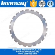 China 350MM diamond ring saw blade for reinforce concrete factory