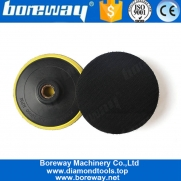 China 4 Inch 100mm Hook And Loop Adhesive Plate Backer For Polisher factory