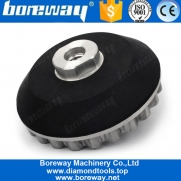 China 4 Inch 100mm Snail Lock Edge Aluminum Rubber Adapter Backer Pad factory