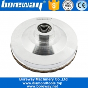 China 4 Inch China Diamond Aluminum Back Ripple Grinding Cup Wheel Factory Or Manufacturer factory