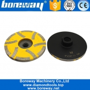 China 4 Inch China Diamond Resin Fill Grinding Cup Wheel for Stone Suppliers Or Manufacturer factory