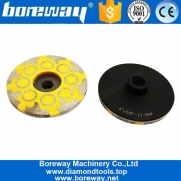 China 4 Inch Resin Filled Diamond Grinding Wheel For Angle Grinder factory