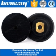China 4 Inch Rubber Based Black Backer Pad für Polierer Winkelschleifer-Fabrik