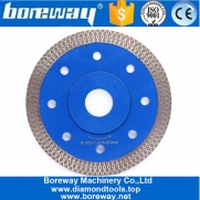 China 4 Inch Wave Diamond Circular Cutting Blade For Stone Porcelain Tile Ceramic factory