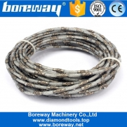China 4 Mm Thin Brazed Diamond Wire Saw For Cutting Marble Concrete factory