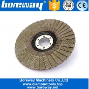 China 5 Inch 125mm Diamond Flap Sanding Disc For Angle Grinder factory