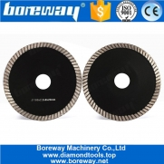 China 5 Inch Concave Diamond Cutting Blade For Granite Concrete factory