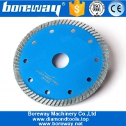 China 5 Inch Turbo Teeth Diamond Cutting Saw Blade For Stone Concrete factory