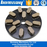 China 6/8/10inch High Processing Efficiency Resin Bond Segments Pads Stone For Polishing factory