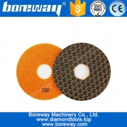 China 5inch 125MM Diamond Dry Polishing Pad for Angle Grinder Polishing Stone Granite Marble factory