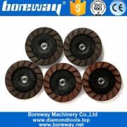 China 7 Inch Dry Use Ceramic Bond Diamond Grinding Cup Wheel For Concrete factory