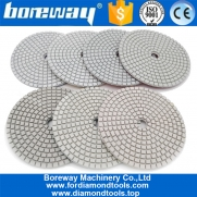 China 7Pcs Per Set Resin Bond Stone diamond polishing pad factory wholesale price factory