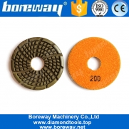 China 85mm Concrete Diamond Grinding And Polishing Pads From China Supplier factory