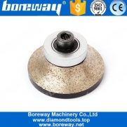 China A30 Diamond Profiling Wheel With M10 Thread For Granite Marble factory