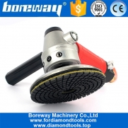 China Air Wet Sander Pneumatic Polisher M14 Thread For Polishing Granite Marble Processing factory
