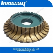 China Arc round profiling wheel 200mm factory